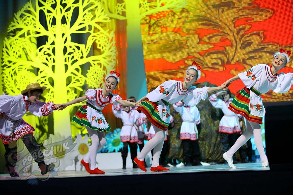 """""""Rovesnik"""" – Danses biélorusses (spectacle scolaire)"""