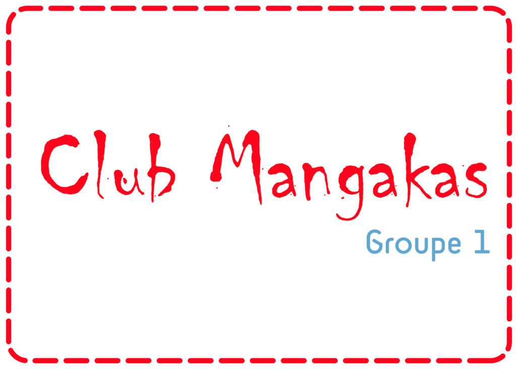 Club Mangaka > 10-14 ans – Groupe 1