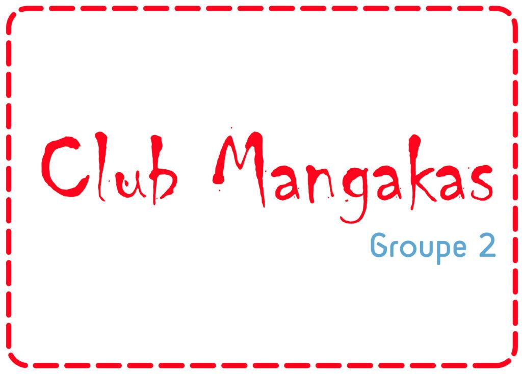 Club Mangaka > 10-14 ans – Groupe 2