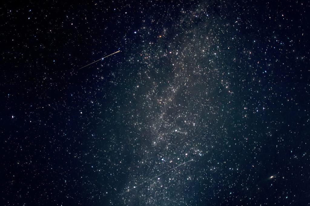 Merveilleux météores !  Jeux de lumière dans l'atmosphère terrestre