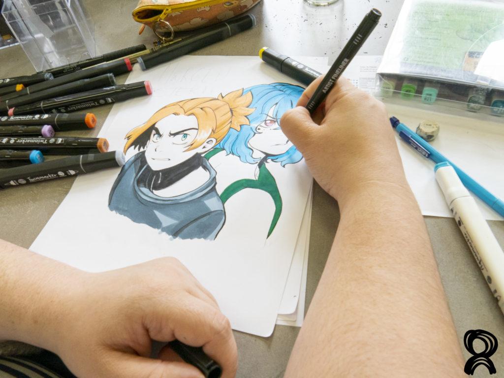 Stage Manga > Du 09 au 13 août 2021>COMPLET!