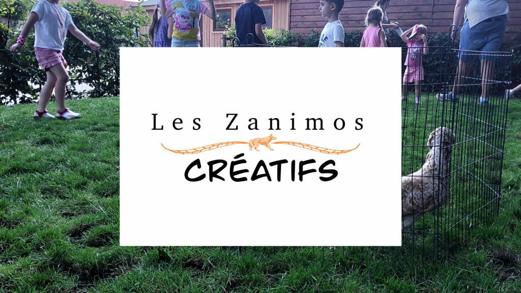 """Atelier """"Zanimos créatifs"""" > 5-9 ans. Rentrée des Ateliers créatifs de septembre 2021"""