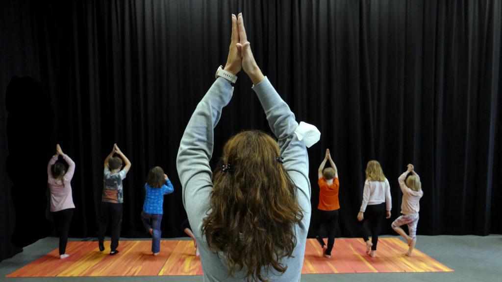 Atelier Yoga Kids – 5>7 ans et 8-12 ans – Rentrée de septembre 2021